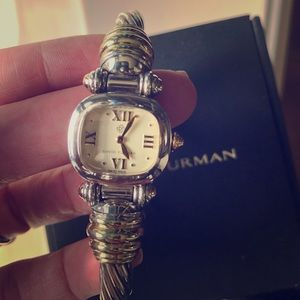 Authentic David Yurman Cable watch